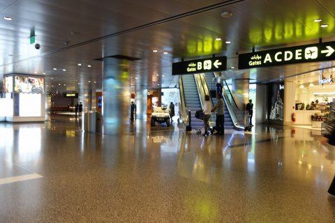 Hamad-International-Airportコンコース