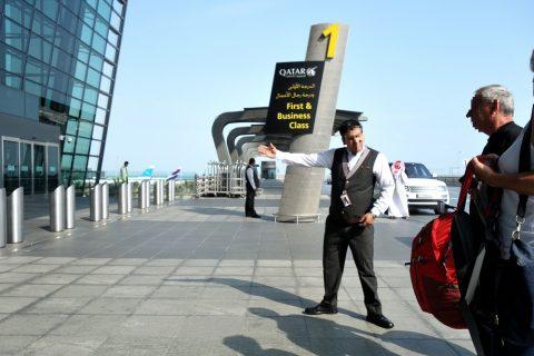 Hamad-International-Airportファースト&ビジネスエントランス