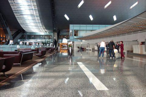 Hamad-International-Airportビジネスクラスチェックインカウンター