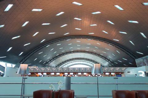 Hamad-International-Airportチェックインカウンター
