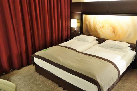 Lindner-Hotel-am-Belvedereベッド