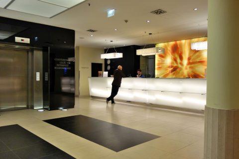 Lindner-Hotel-am-Belvedereレセプション