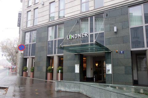 Lindner-Hotel-am-Belvedereエントランス