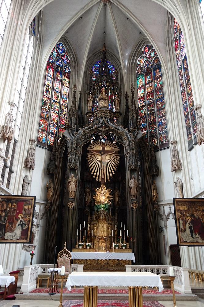 Maria-am-Gestade祭壇