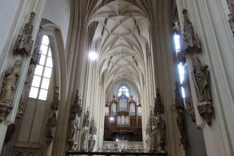 Maria-am-Gestade天井の高さ
