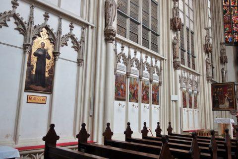 Maria-am-Gestade静かな教会