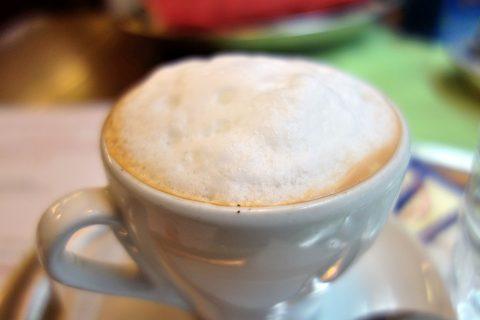 Palatschinkenkuchlのコーヒー