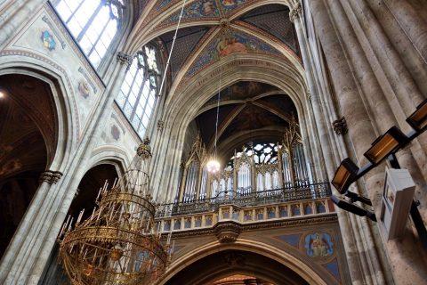 ヴォティーフ教会のパイプオルガン