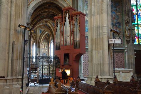 ヴォティーフ教会のオルガン