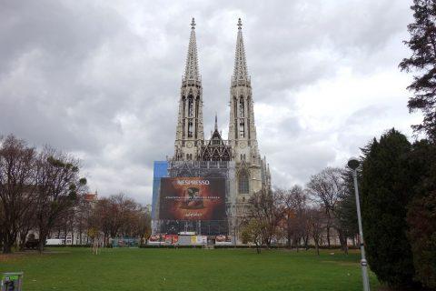 ヴォティーフ教会前の公園