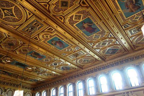 ウィーン楽友協会の天井フレスコ画