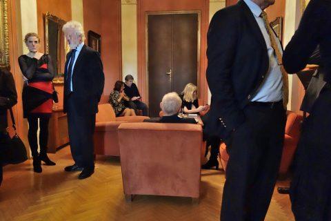 ウィーン楽友協会の部屋