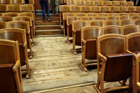 ウィーン楽友協会の床