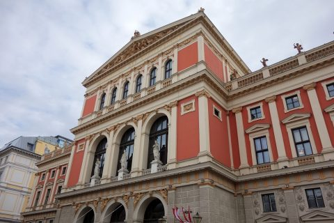 Wiener-Musikvereinの外壁