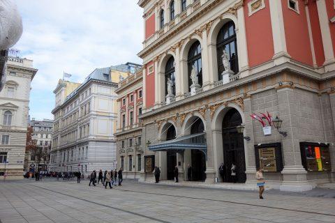 Wiener-Musikvereinのマチネ