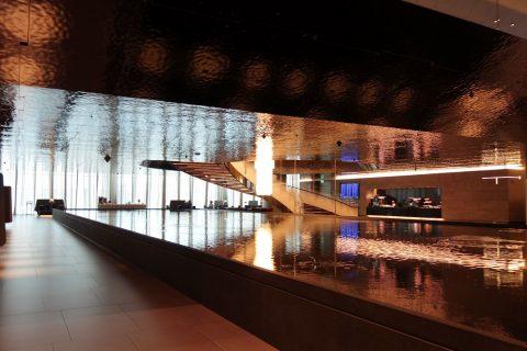 al-mourjan-business-loungeの噴水