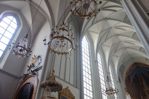 augustiner-kirche天井