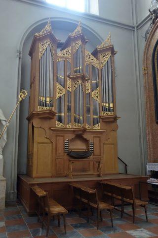 augustiner-kircheのパイプオルガン