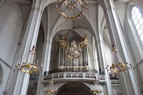 augustiner-kircheのパイプオルガンが美しい