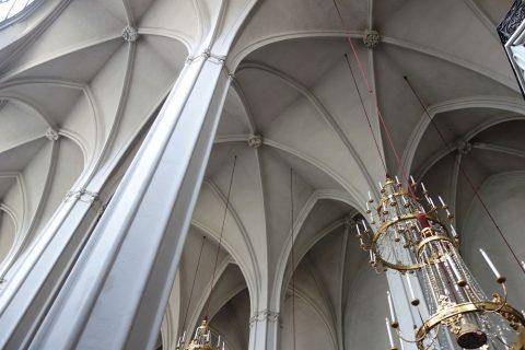 augustiner-kircheは寒い