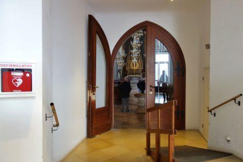 augustiner-kircheのエントランス