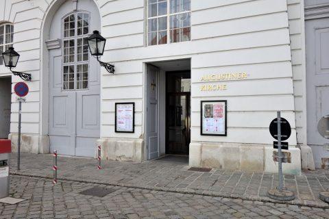 augustiner-kircheの入口