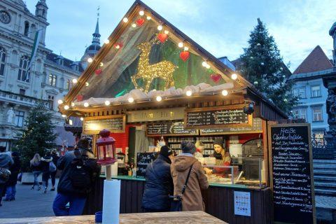 グラーツ・クリスマスの露店