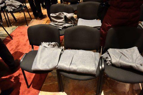 カールス教会コンサートの座席