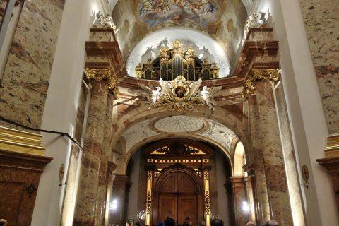 カールス教会パイプオルガン