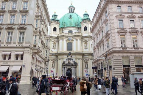 ウィーン「ペーター教会」外観