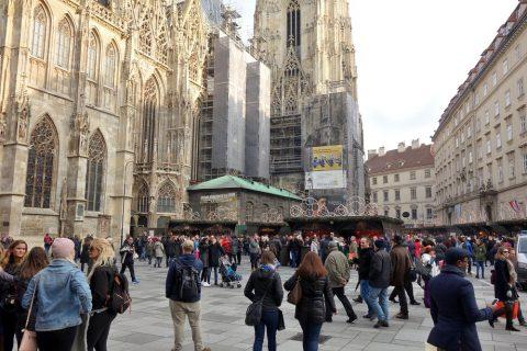 シュテファン大聖堂の周辺