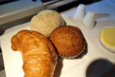 qatarairwaysビジネスクラスのパン