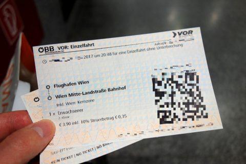 OBBの切符