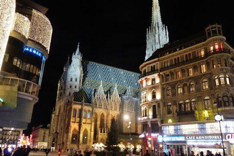 vienna-christmas-marketの夜