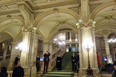 ウィーン国立オペラ座のチケットチェック