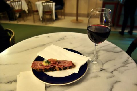 wiener-staatsoperサンドイッチとワイン