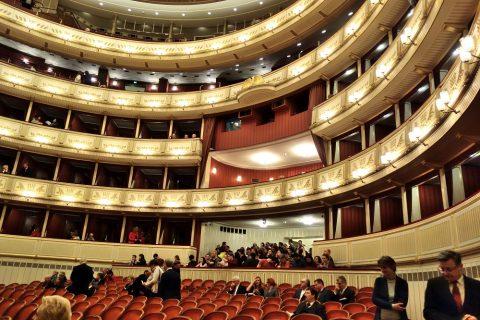 ウィーン国立オペラ座の講堂