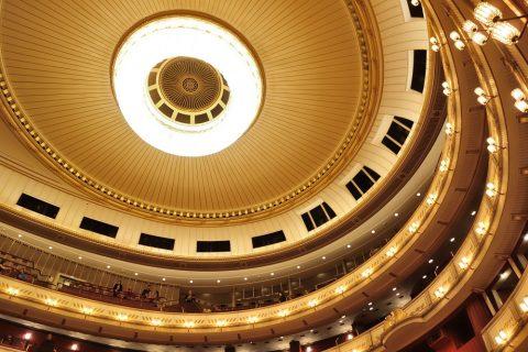 ウィーン国立オペラ座の天井