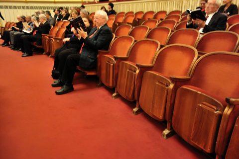ウィーン国立オペラ座の座席