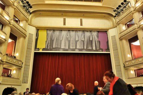 ウィーン国立オペラ座の緞帳