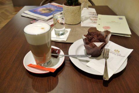 Cafe-Erzherzog-Johannコーヒーとケーキ