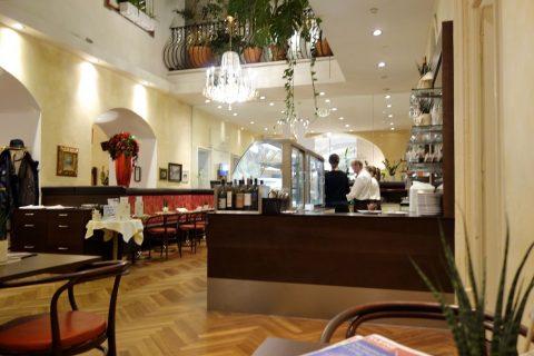Cafe-Erzherzog-Johann店内