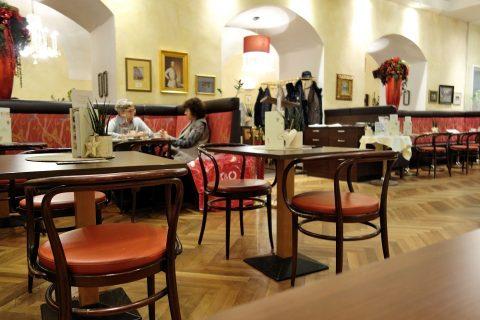 Cafe-Erzherzog-Johannの客席