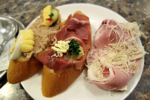 Delikatessen-Frankowitschで3種のサンドイッチ