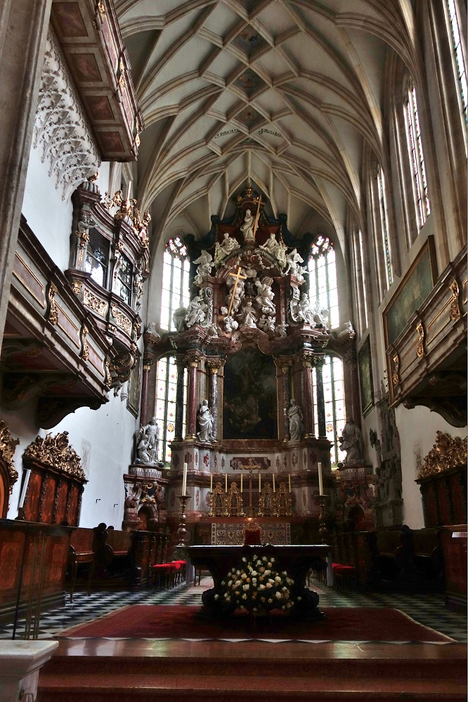 グラーツ大聖堂の祭壇