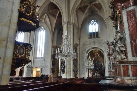 グラーツ大聖堂の照明