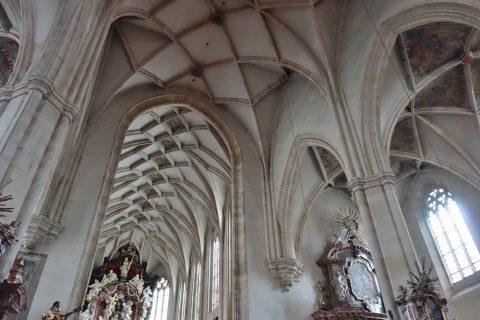 グラーツ大聖堂の天井