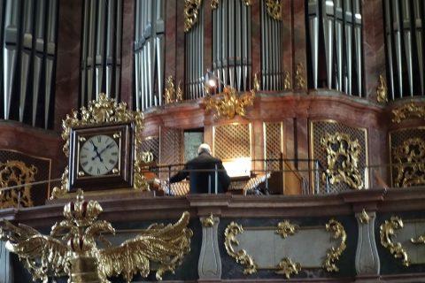グラーツ大聖堂のオルガニスト