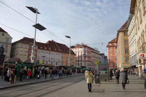 グラーツ旧市街広場