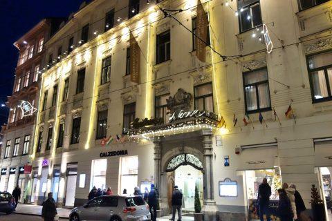 Erzherzog-Johann-Palais-Hotelの夜景